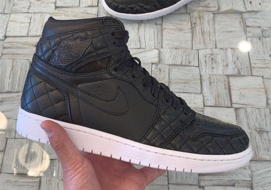 A Quilted Leather Air Jordan 1 Was Given To Friends And Family At All-Star