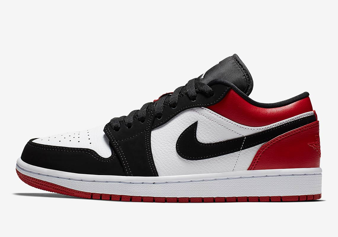 8a1cf445a485 Air Jordan 1 Low SB Black Toe 553558-116 Release Info
