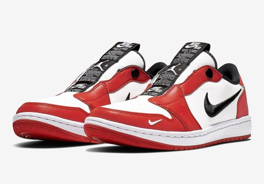 """The Air Jordan 1 Low Slip Appears In The """"Chicago"""" Theme"""""""