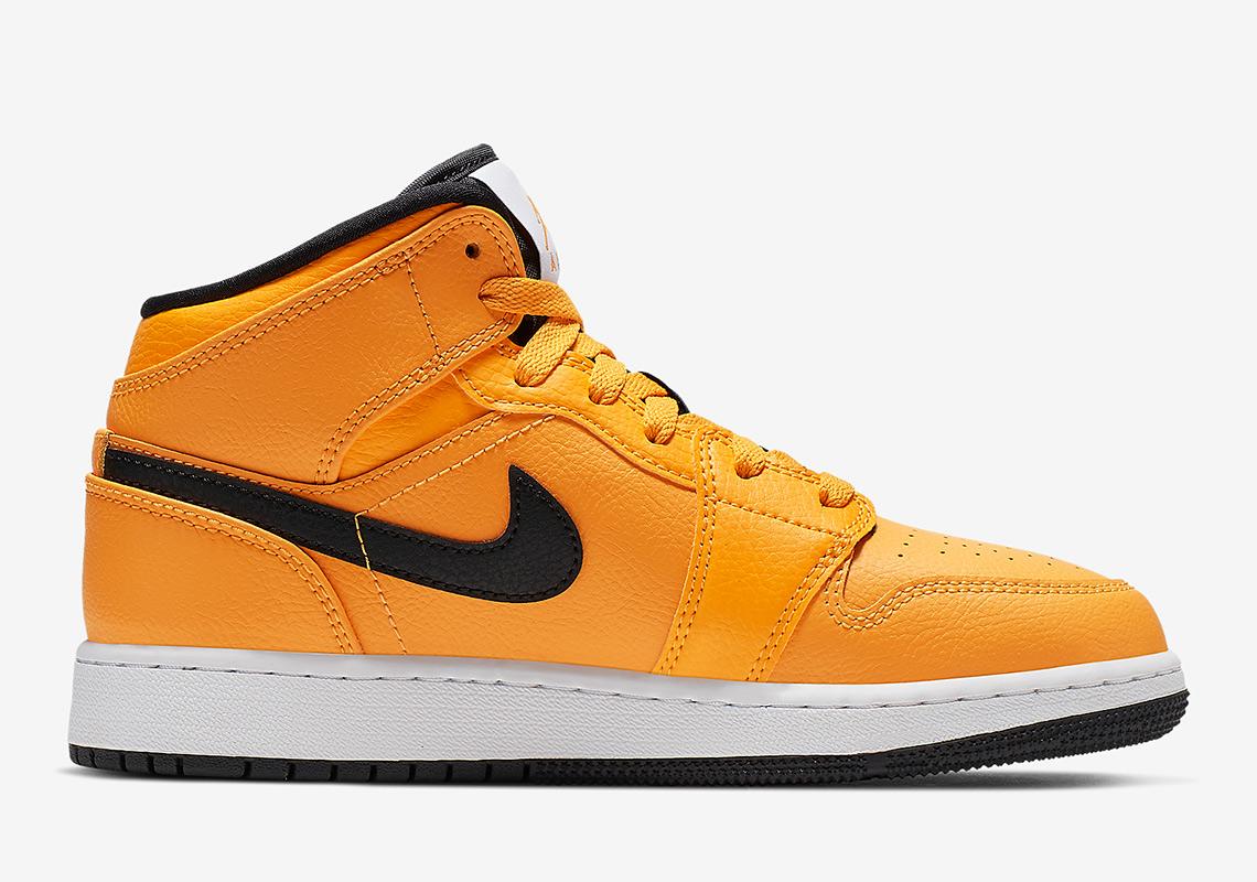 d9b0d8efea5 The Air Jordan 1 Mid Gets A Full Bright Taxi Yellow - SneakerNews.com