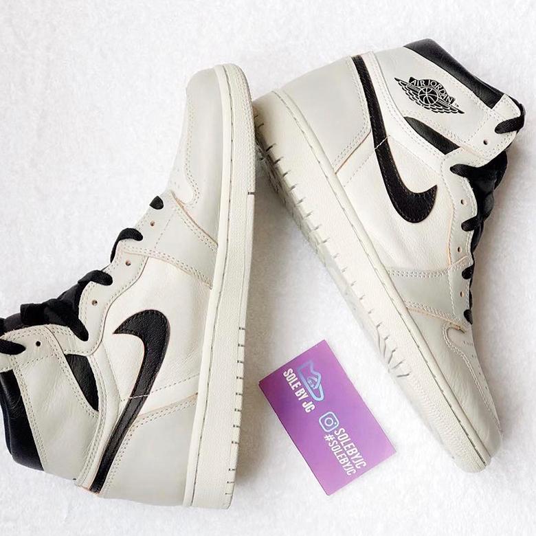 Nike SB Air Jordan 1发布白色和黑色