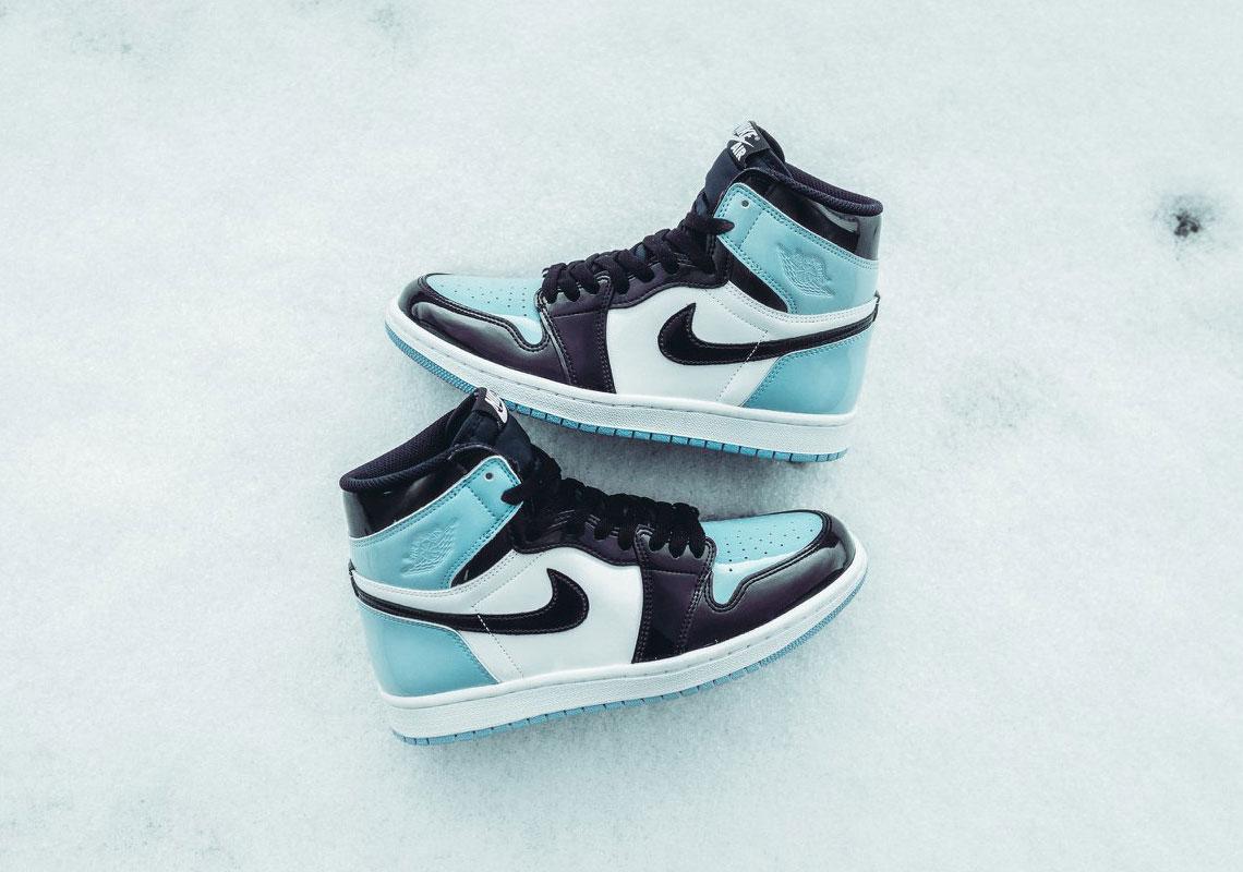 Where To Buy Air Jordan 1 Retro High Og Unc Blue Chill Patent Sneakernews Com