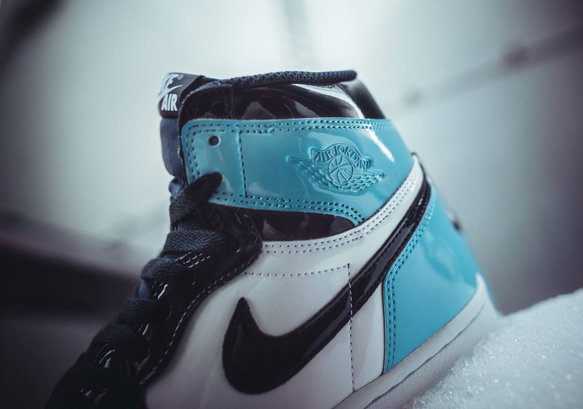 Where To Buy Air Jordan 1 Retro High Og Unc Blue Chill Patent