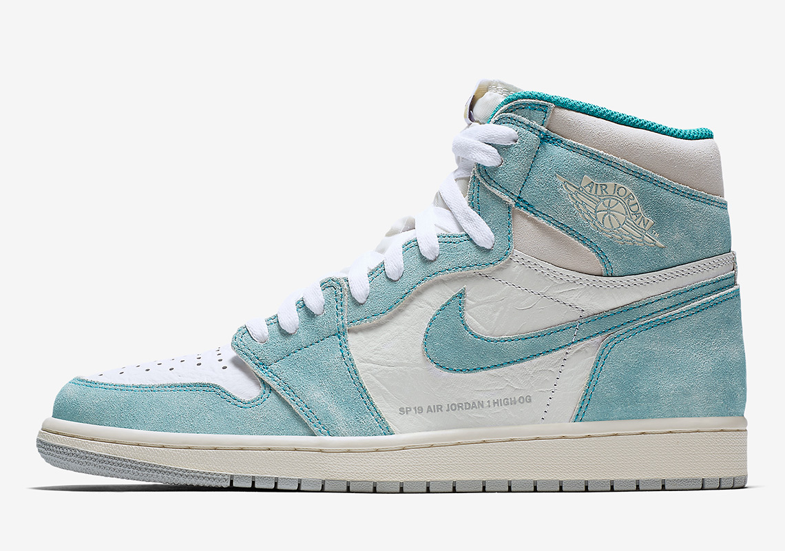 watch 73139 f5f06 Air Jordan 1 Retro High OG Turbo Green Jordan 1 Store List Release Date   February 15th, 2019  160. Color  Turbo Green White-Sail-Light Smoke Grey