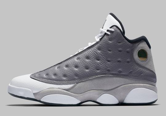 "Official Images Of The Air Jordan 13 ""Atmosphere Grey"""