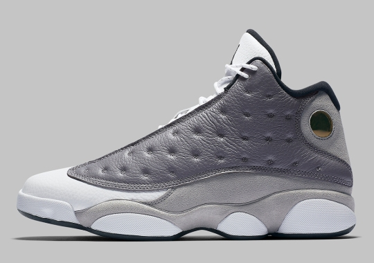 "a74f9a0ead7a Official Images Of The Air Jordan 13 ""Atmosphere Grey"""