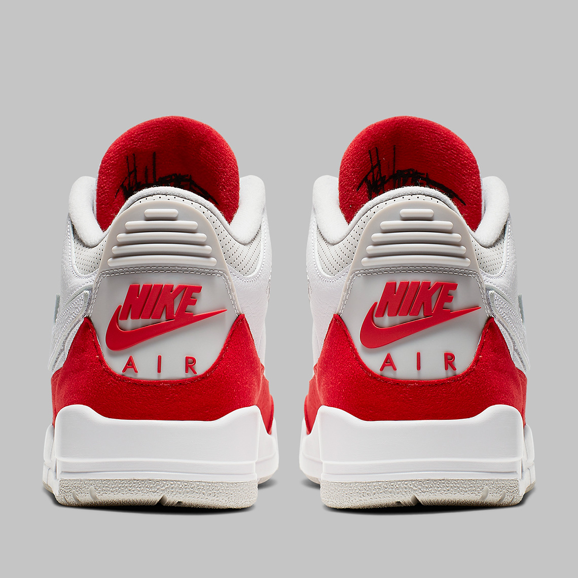c30f41fcb2ac0c Air Jordan 3 Tinker CJ0939-100 White University Red Release Date ...