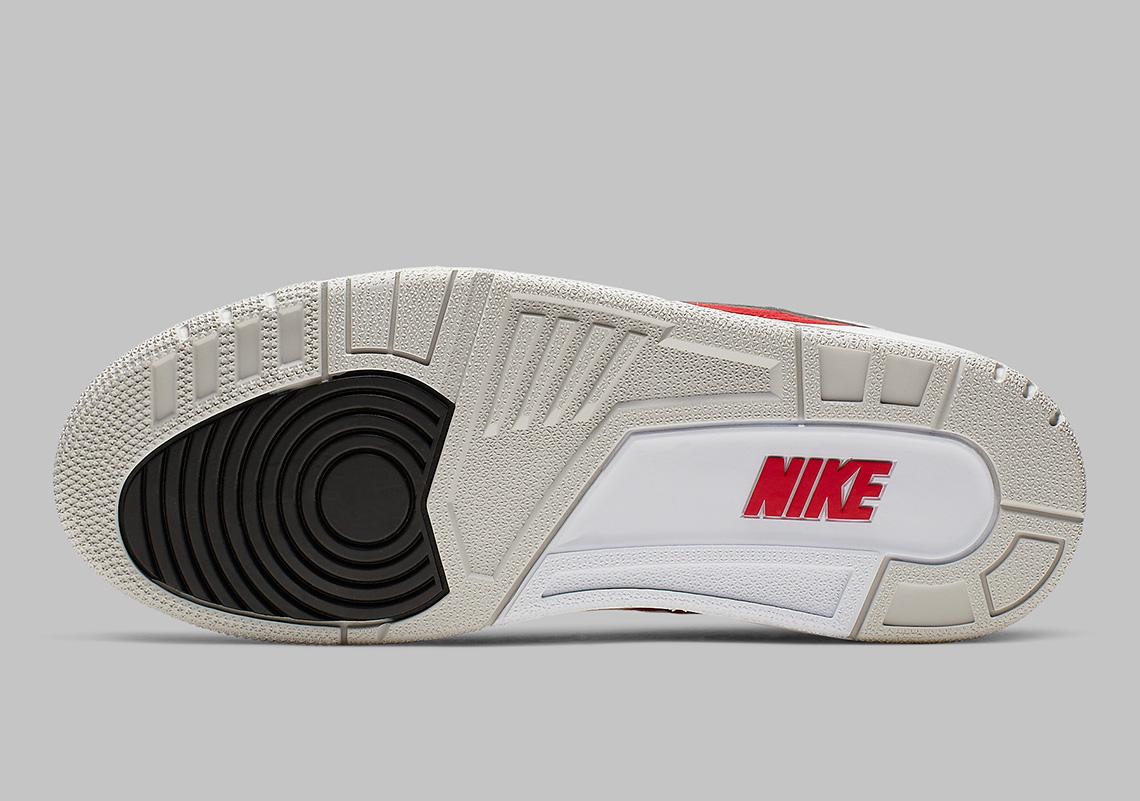 ff4ceafce92f Air Jordan 3 Tinker CJ0939-100 White University Red Release Date ...