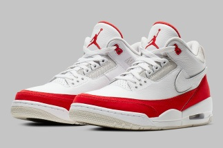 "newest collection 8a891 9719f Air Jordan 3 Tinker ""University Red"" To Feature Removable Swoosh Logos"