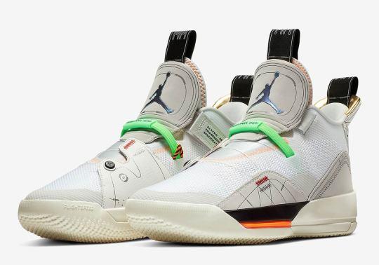 "Air Jordan 33 ""Vast Grey"" Releases This March"
