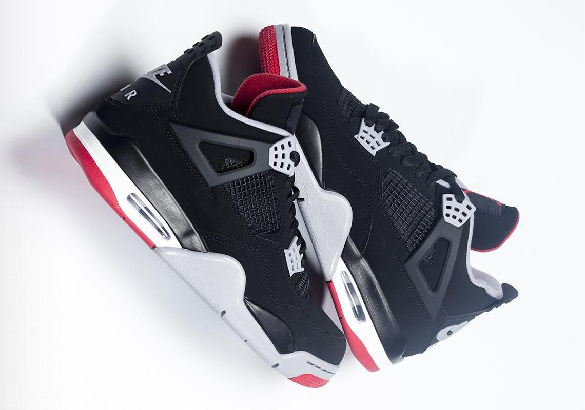 sneakers for cheap 493b8 945f3 Jordan 4 Bred 2019 308497-060 Release Date   SneakerNews.com