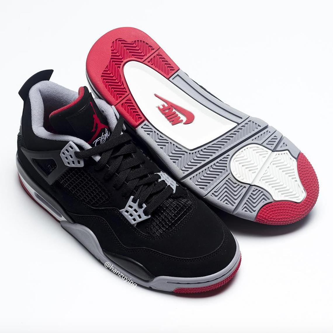 11192983266 Jordan 4 Bred 2019 308497-060 Release Date | SneakerNews.com