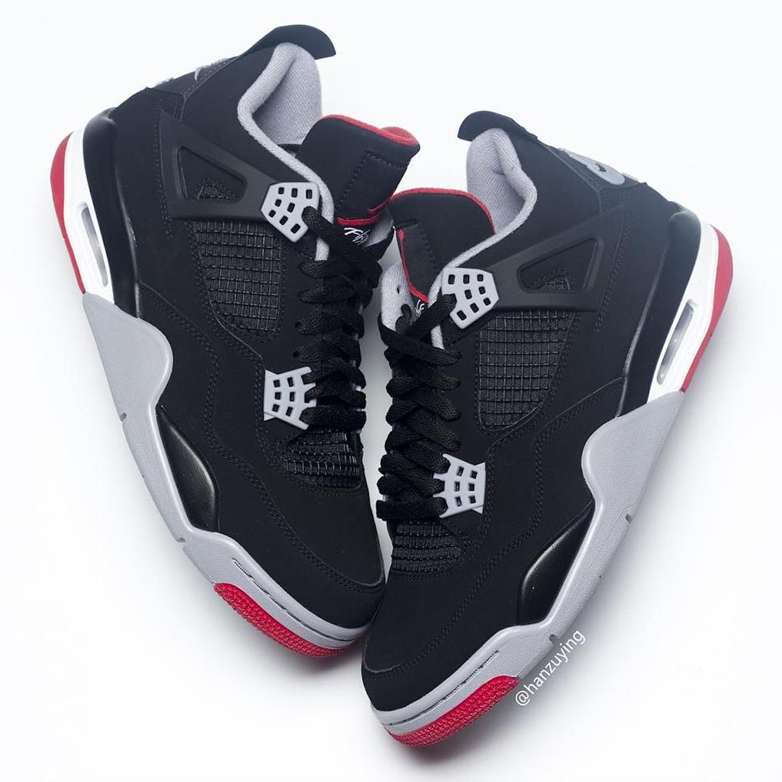 Jordan 4 Bred 2019 308497-060 Release Date  21217d8bb