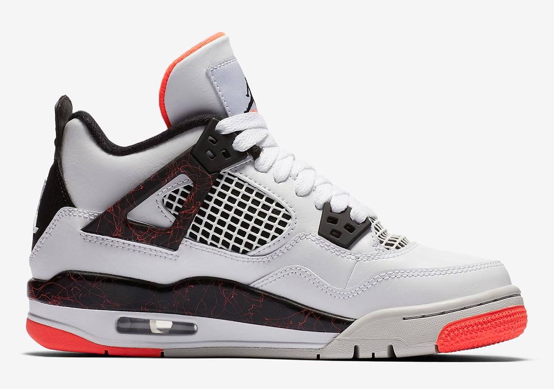 sale retailer e328a 22428 Air Jordan 4. Release Date  March 2nd, 2019. Color  White Black-Bright  Crimson-Pale Citron Style Code  408452-116. Advertisement