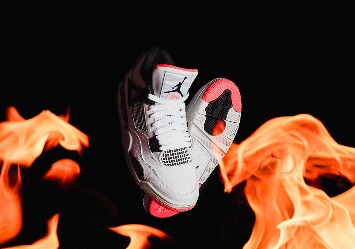 "best loved 060fa d5691 Air Jordan 4 ""Hot Lava"" Release Details"