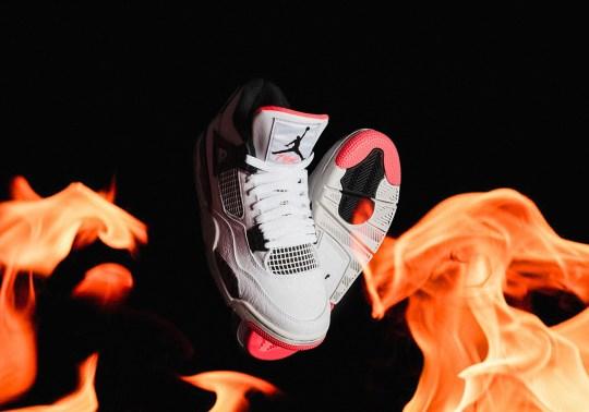 """Air Jordan 4 """"Hot Lava"""" Release Details"""