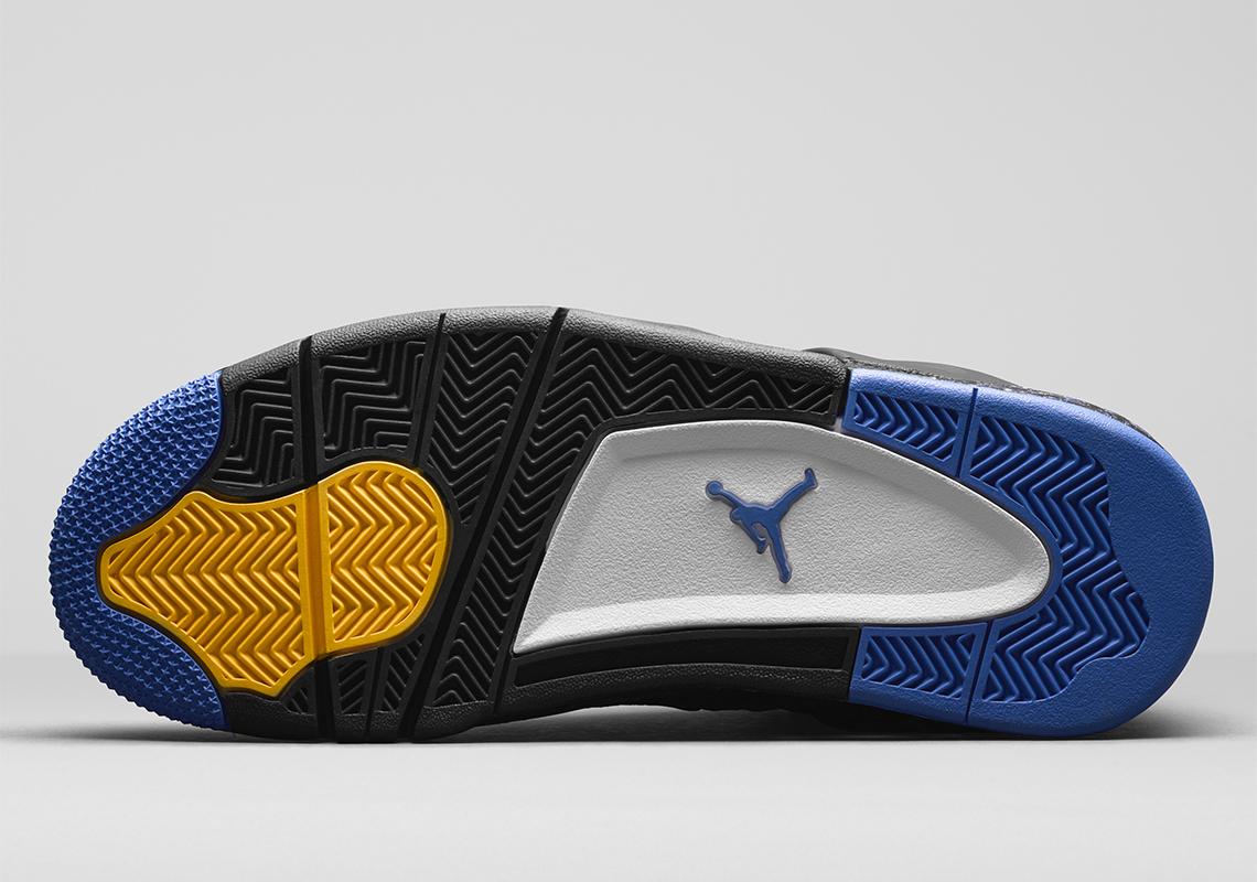 size 40 d3759 67e6e Air Jordan 4 Wings Black Royal Yellow   SneakerNews.com