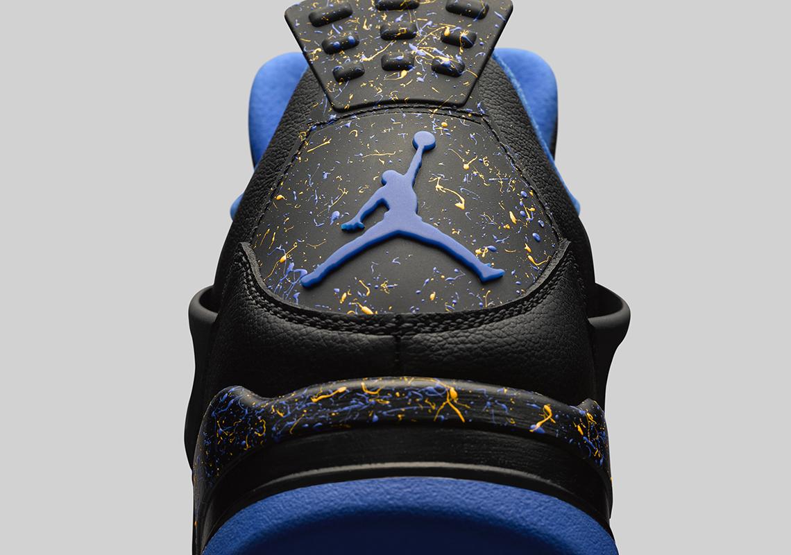 27cb213af4b Air Jordan 4 Wings Black Royal Yellow   SneakerNews.com
