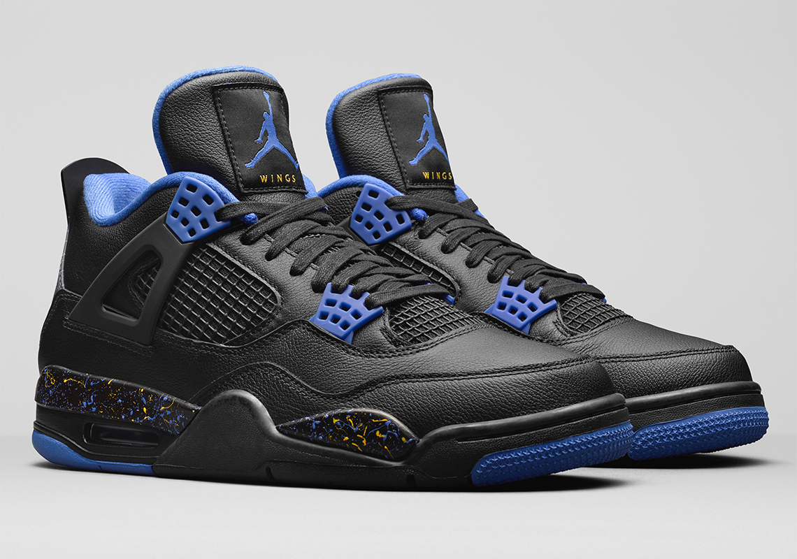 "finest selection 90ebb 6b6f4 Jordan Brand Presents The Air Jordan 4 ""Wings"" To James Whitner"