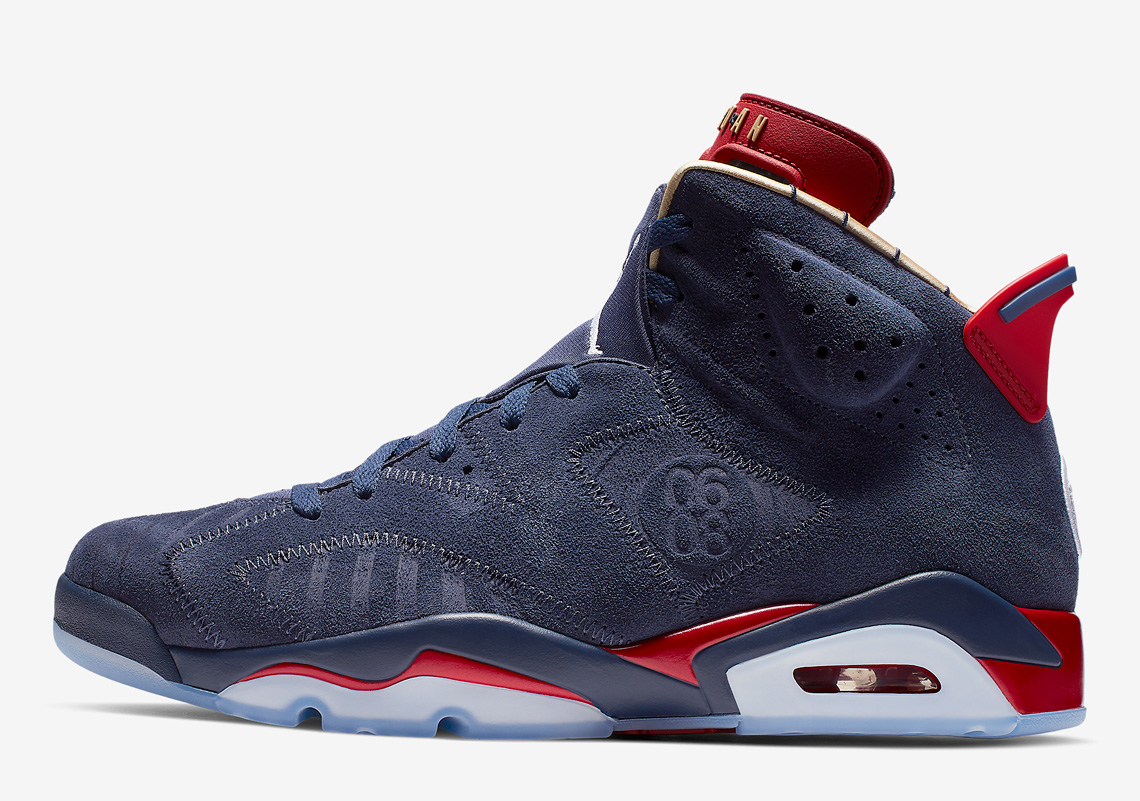 0e6be67de9e5 Air Jordan 6 Doernbecher 2019 579603-740 Release Info