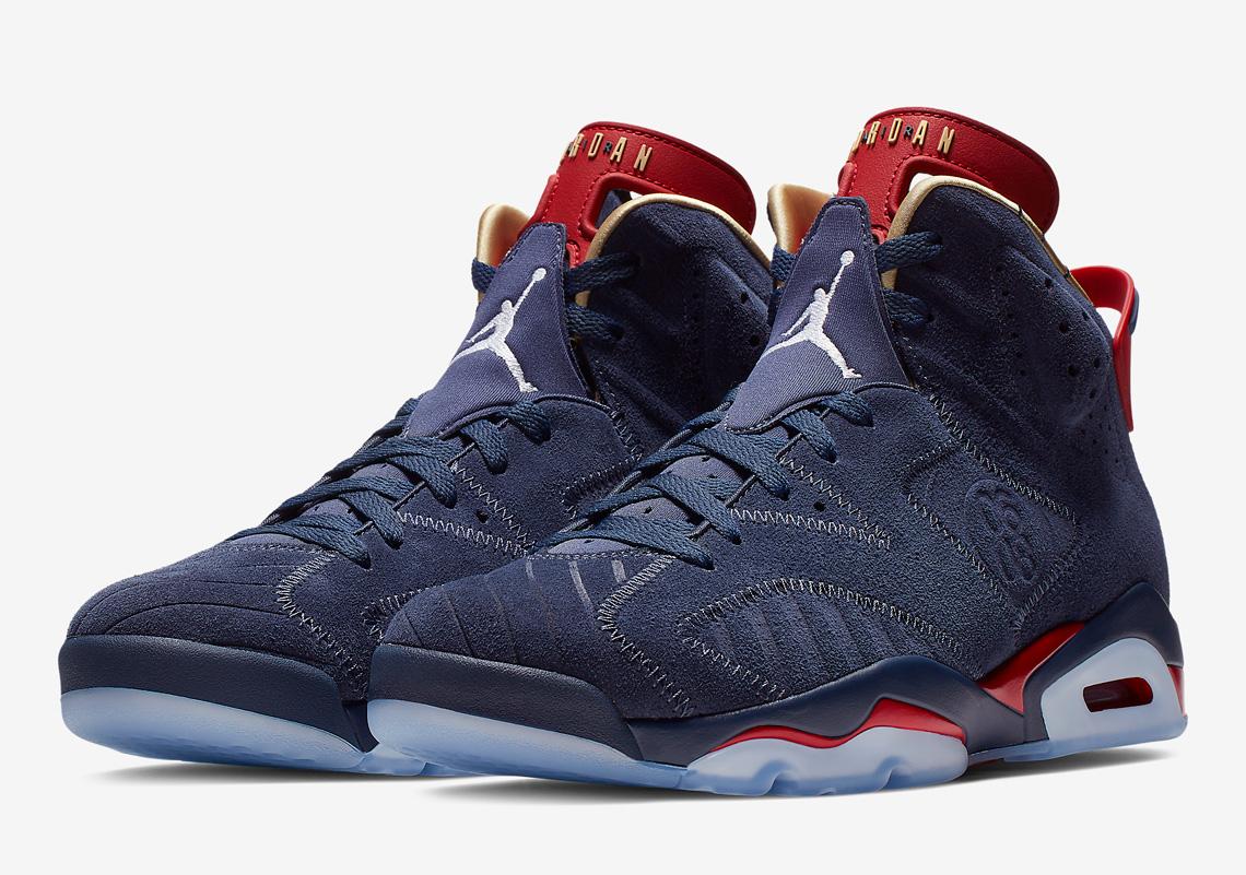 watch 4cac5 dbcec Air Jordan 6 Doernbecher 2019 579603-740 Release Info   SneakerNews.com