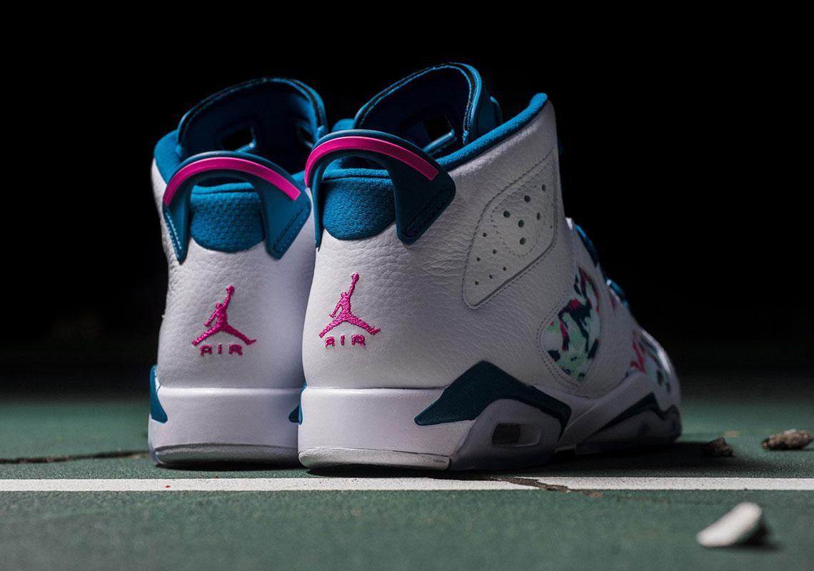 b1986669c343 Air Jordan 6 Green Abyss GG 543390-153 Store List