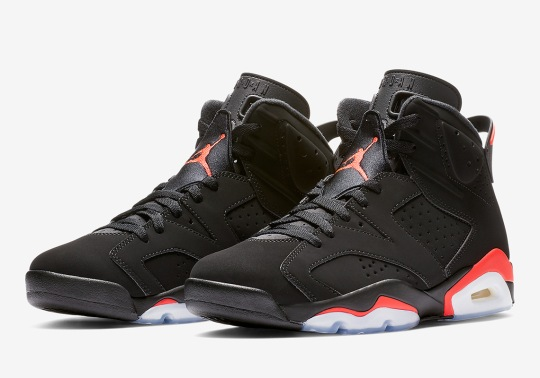"Where To Buy The Air Jordan 6 ""Infrared"""