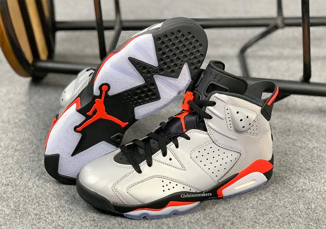 "41703a8f8b91 Detailed Look At The Air Jordan 6 ""Reflective Infrared"""