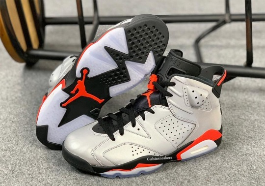 "Detailed Look At The Air Jordan 6 ""Reflective Infrared"""