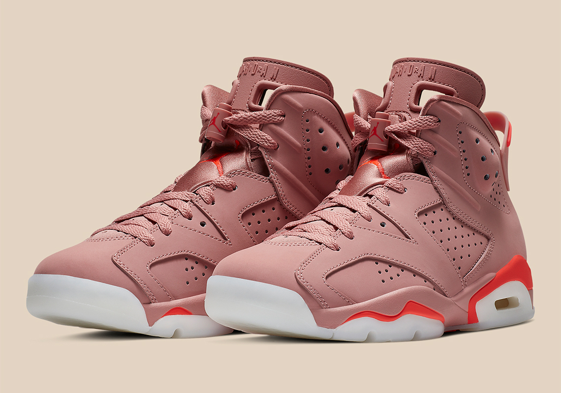 separation shoes d15b2 29fec Official Images Of The Aleali May x Air Jordan 6