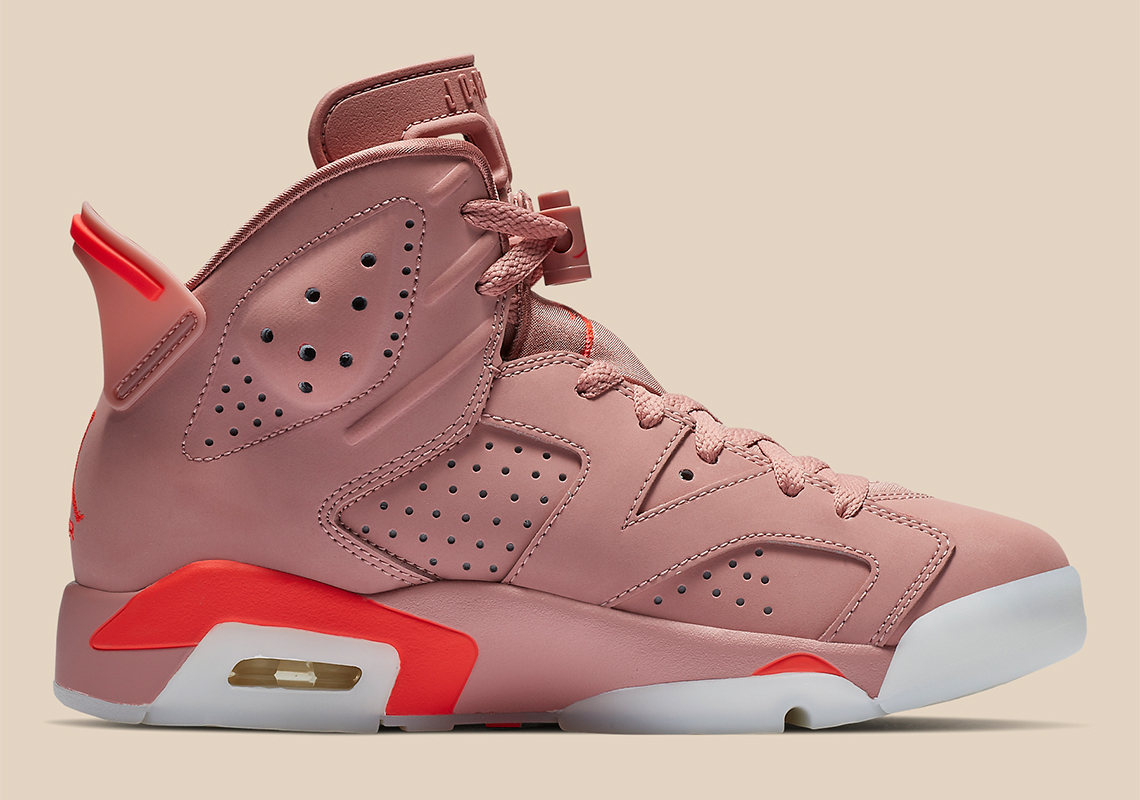 detailed look d29af a1c77 Air Jordan 6 Aleali May CI0550-600 Release Date   SneakerNews.com