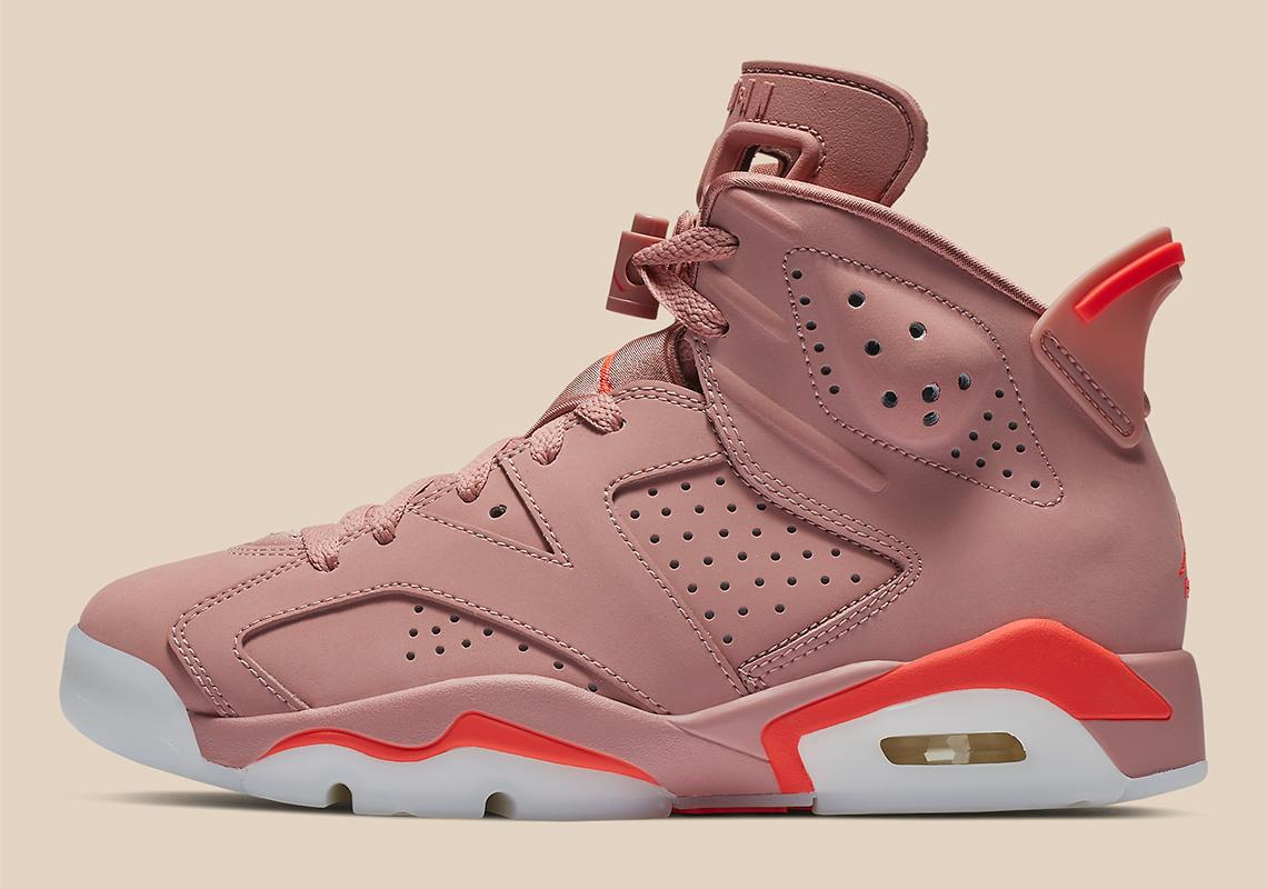 e4bc0d384f28af Aleali May Air Jordan 6 Millennial Pink Release Date