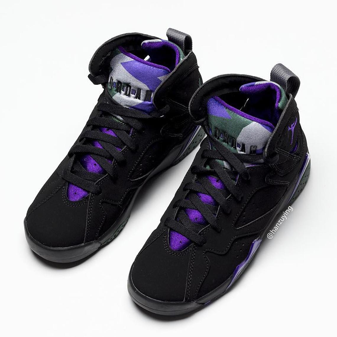 1cfdad966ef Jordan 7 Bucks Ray Allen 304775-053 Release Date | SneakerNews.com