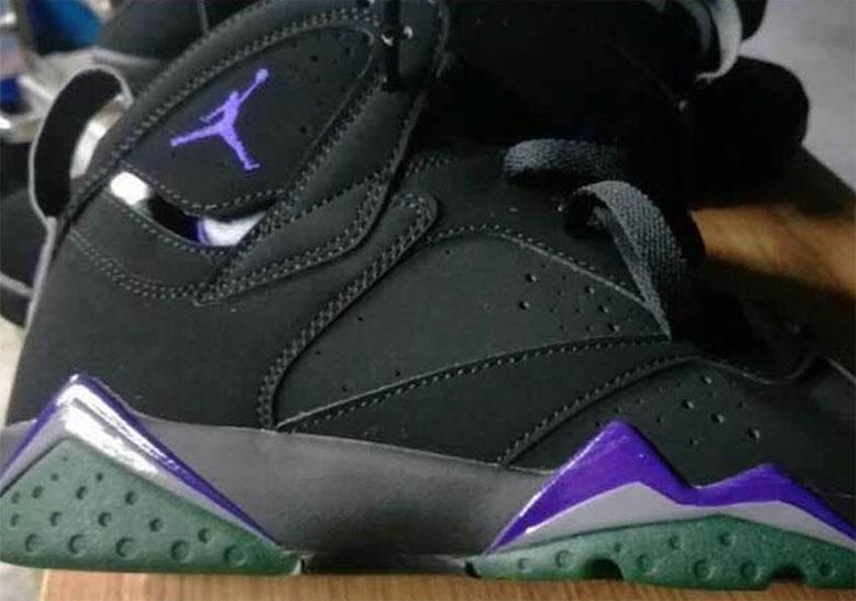 free shipping edda7 5c9ca Air Jordan 7 Bucks Black Purple Green - 2019 Release Info   SneakerNews.com