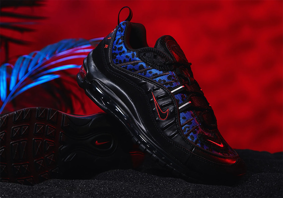 Nike Air Max Leopard Pack Black Blue Red Store List