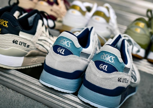 ASICS Readies A Fresh Batch Of GEL-Lyte III Drops For Spring 74df7b3ec6