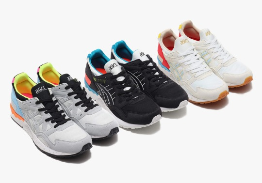 ASICS Equips Three GEL-Lyte Vs With Spring-Ready Accents