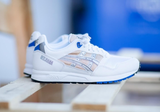 The ASICS GEL-Saga Returns With A Clean Royal And Nude