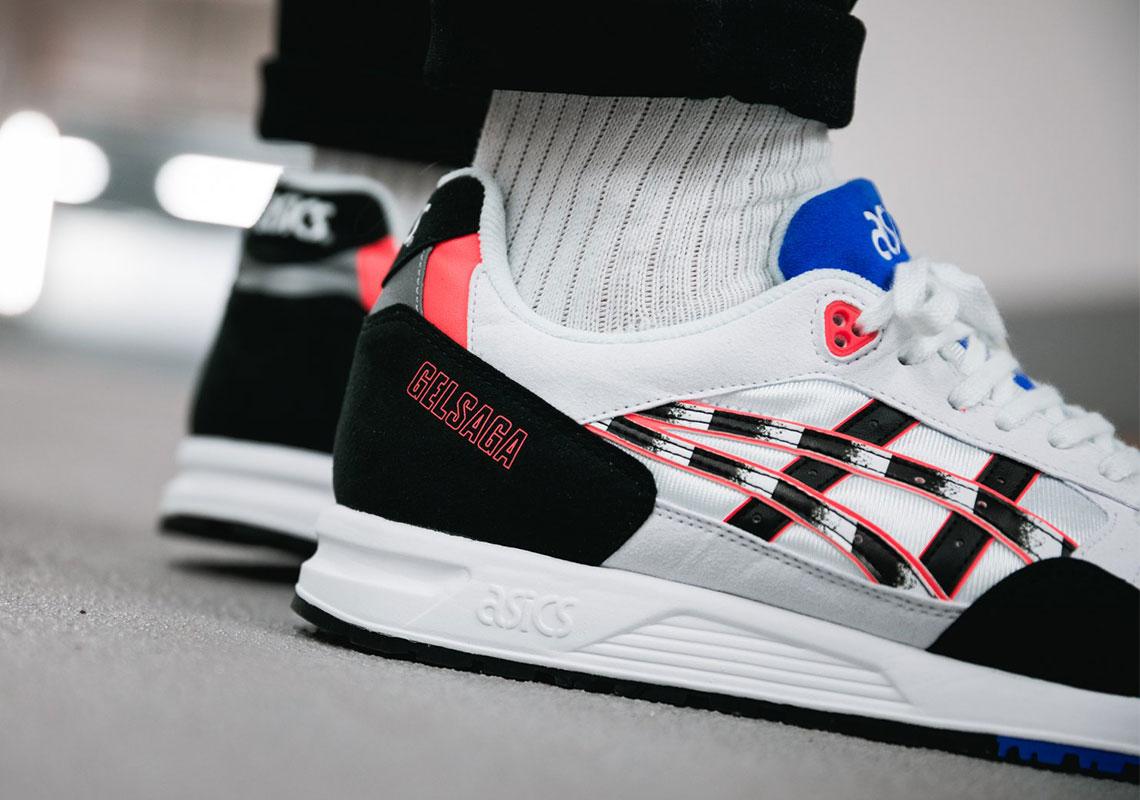 ASICS Gel Saga Zebra Stripe Release Info | SneakerNews.com