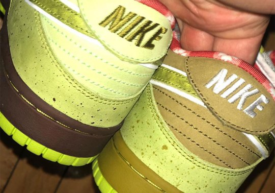 """Concepts' Deon Point Reveals Alternate """"Green Lobster"""" Dunk Colors"""