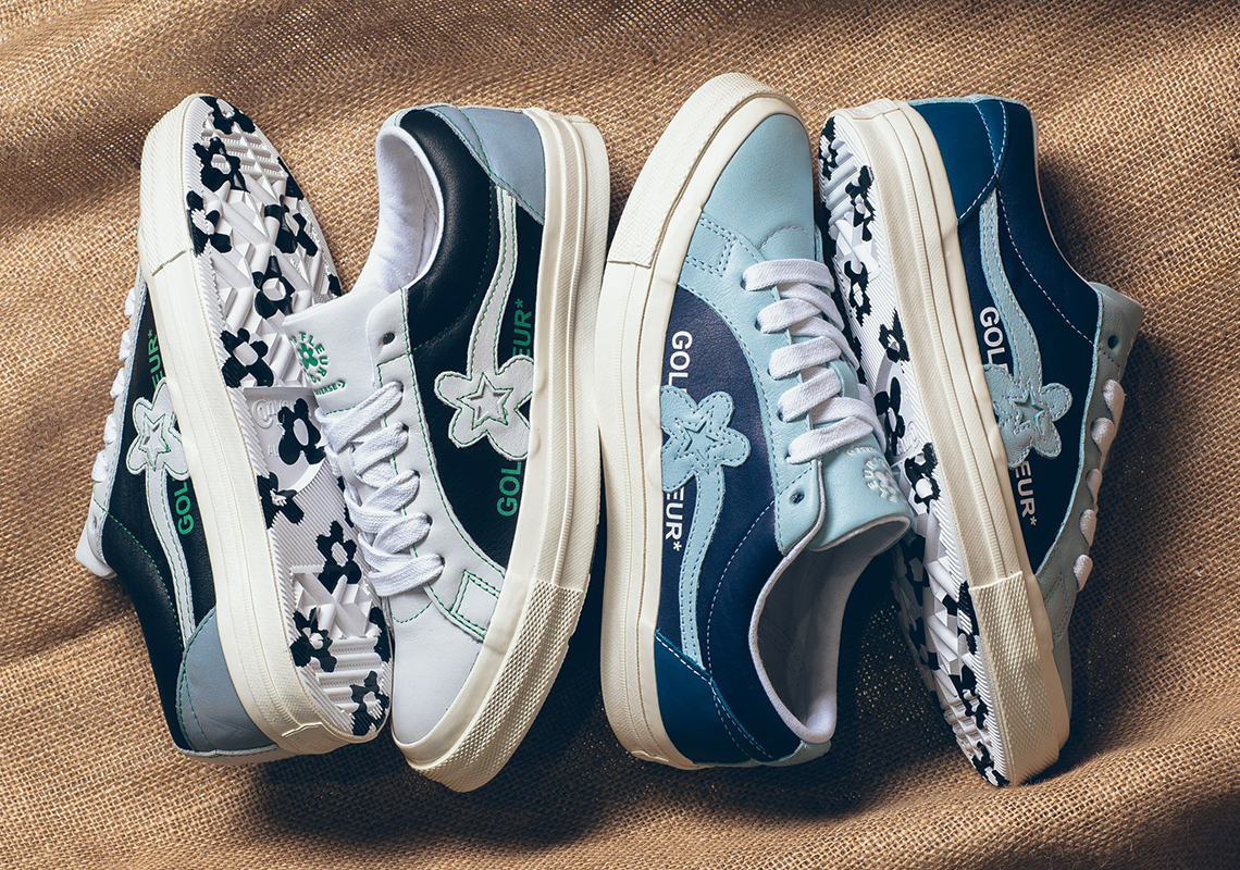 89b7d07f19c5 Tyler The Creator Converse One Star Le Fleur Two Tone Release Date ...