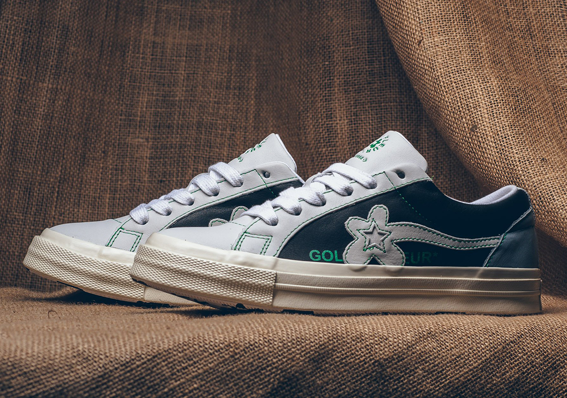 Tyler The Creator Converse One Star Le Fleur Two Tone Release Date Sneakernews Com