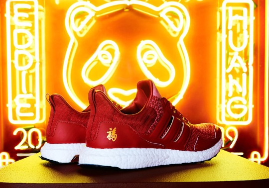Eddie Huang's adidas Ultra Boost For Chinese New Year Drops This Week