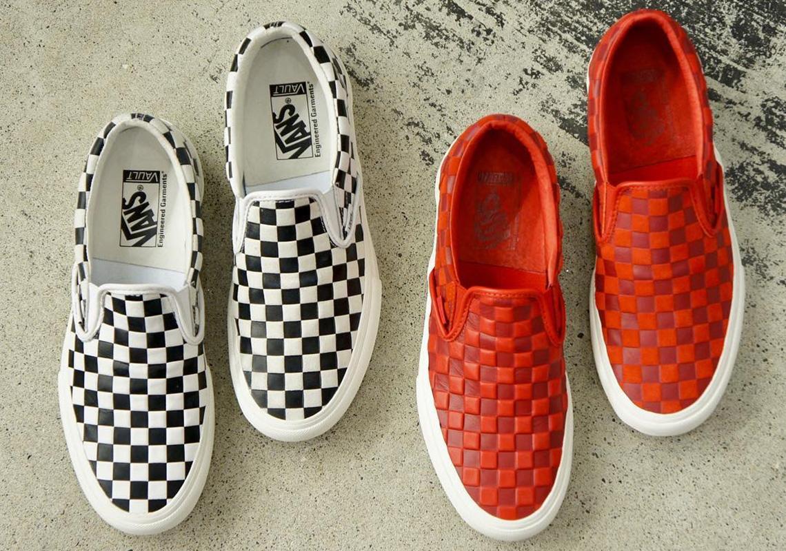 Engineered Garments Vans Checkerboard Slip-On Release Info ... 627171262