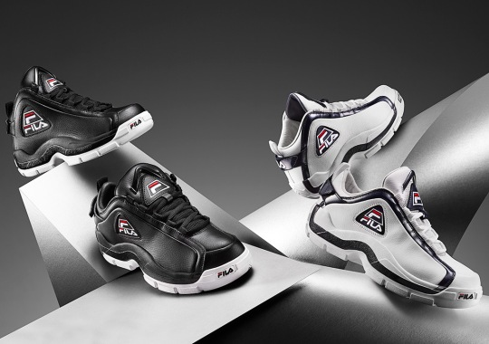 The Iconic FILA 96 Returns In Original Form And A New Low-top Model
