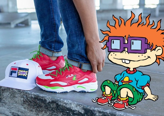 FILA And Champs Evoke 90s Nostalgia With Full Scale Rugrats Collection