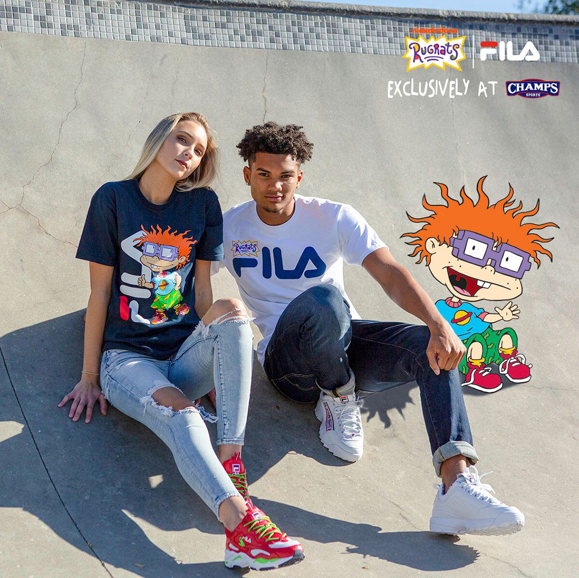 70d67b75df08c3 FILA Champs Rugrats Collection Release Info