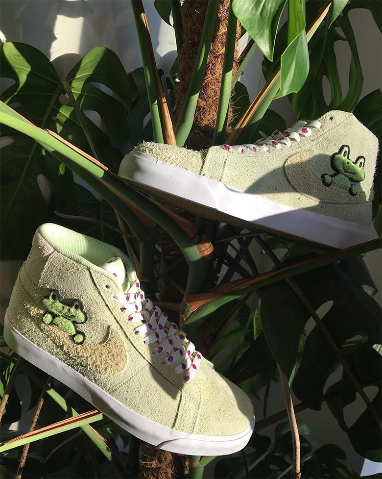 buying now various colors free delivery Nike SB Blazer Frog Skateboards Release Info | SneakerNews.com