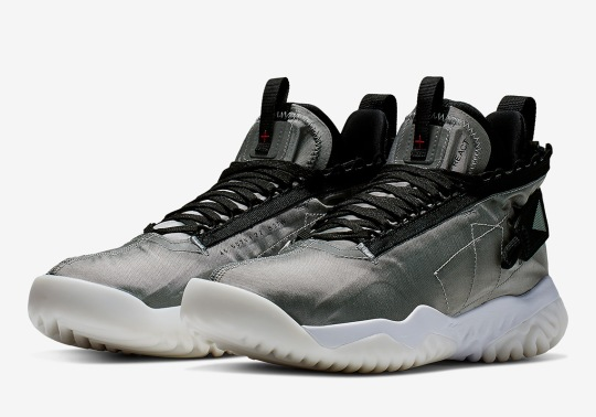 Official Images Of The Jordan Proto React In Metallic Silver