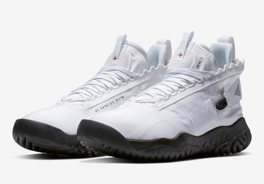 First Look At The Jordan Proto React In White/Black